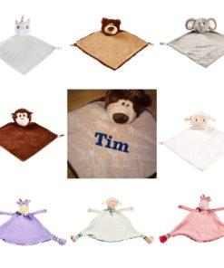 Personalisierte Schmusetücher