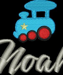Lokomotive mit Name