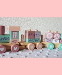 Eisenbahn rosa